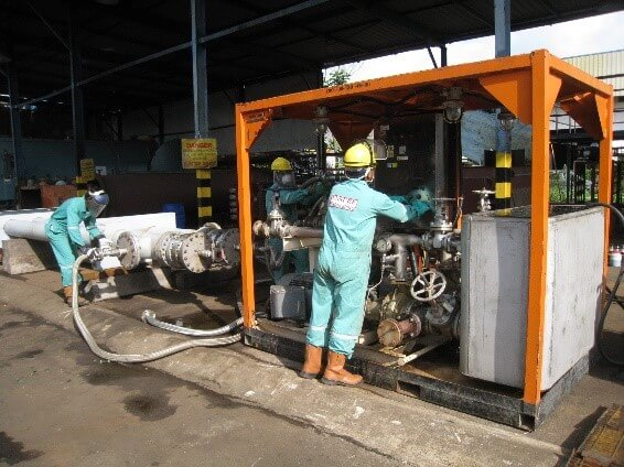 Chemical Cleaning Services : Plant shutdown turnaround services ensure engineering