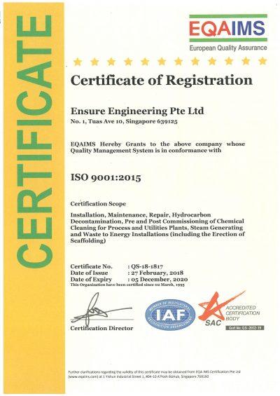 EQAIMS - ISO-9001-2015 - (05-12-2020)