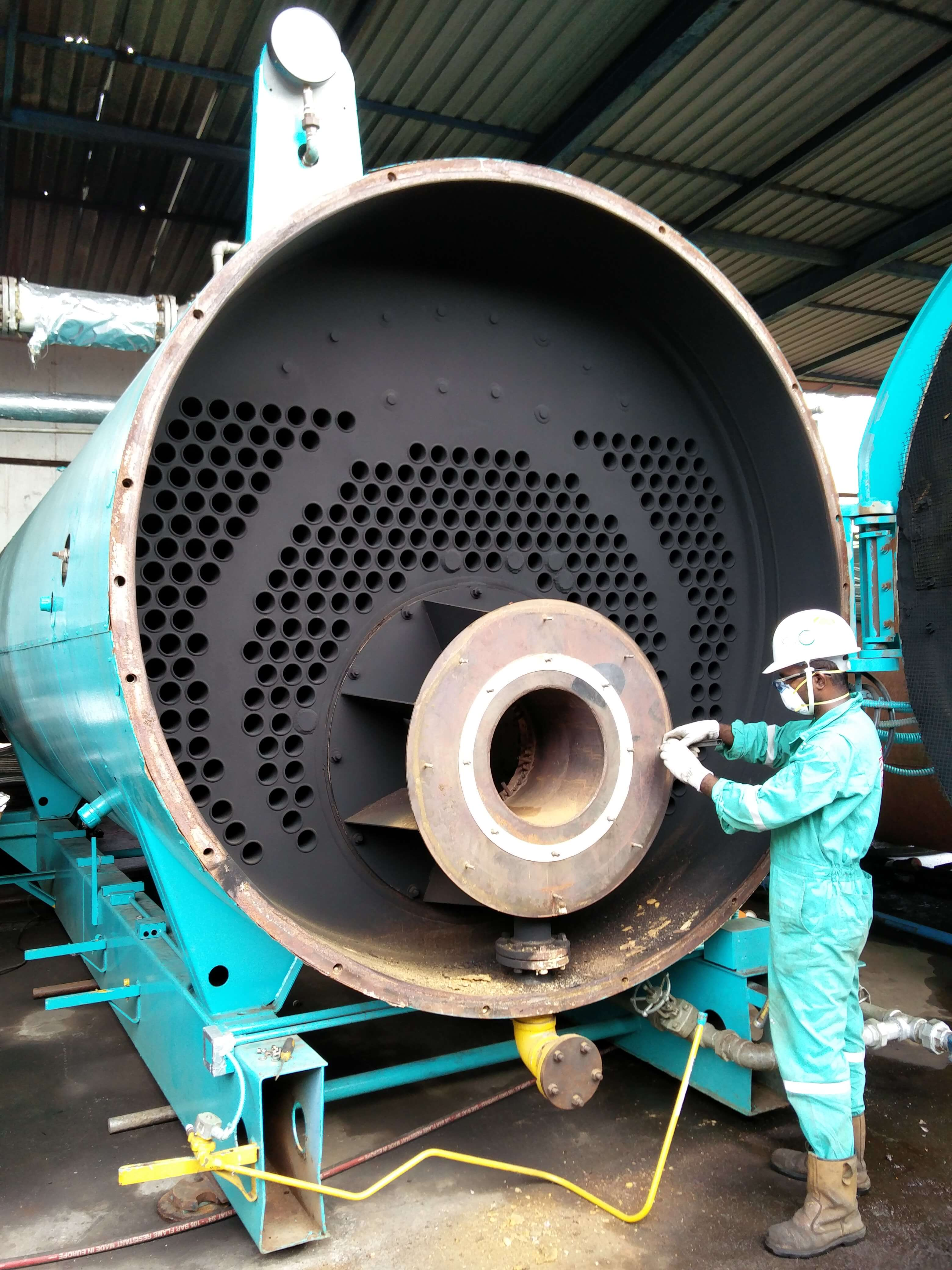 maintenance and overhaul of boiler its auxiliary equipment