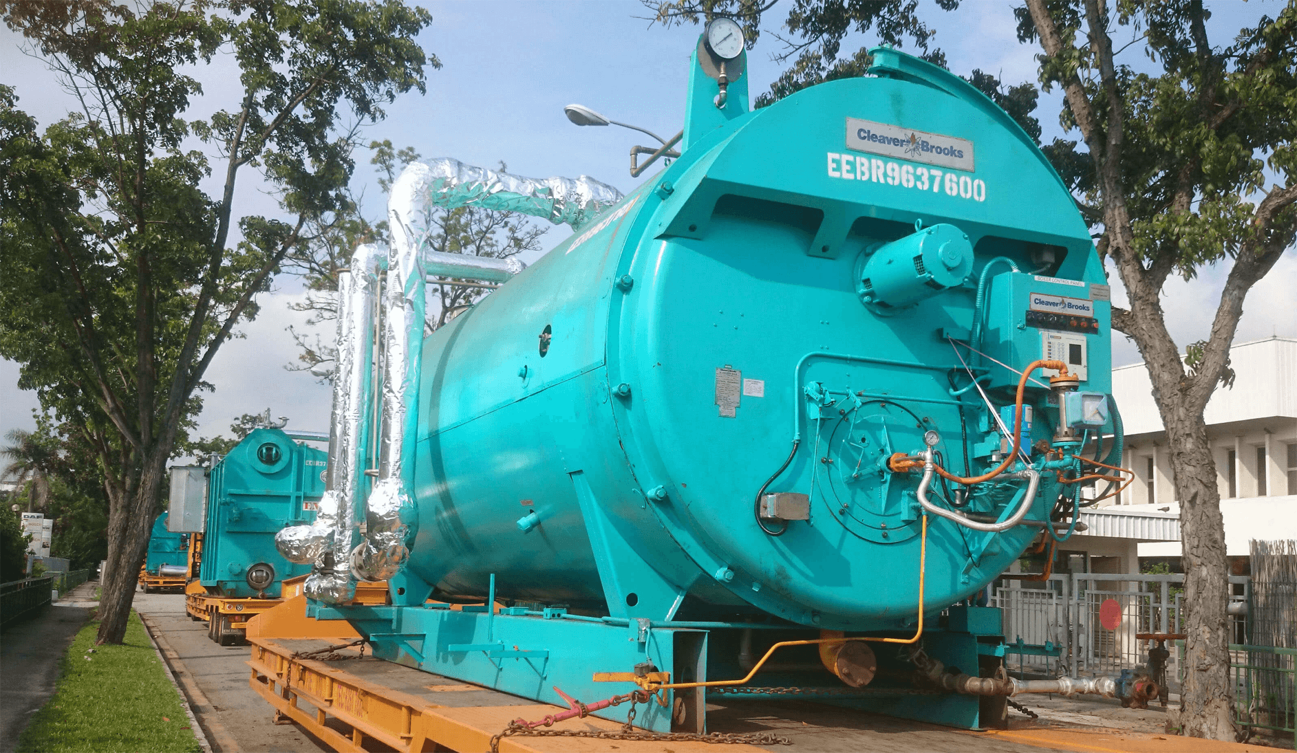 Rental of Portable Boilers – Ensure Engineering